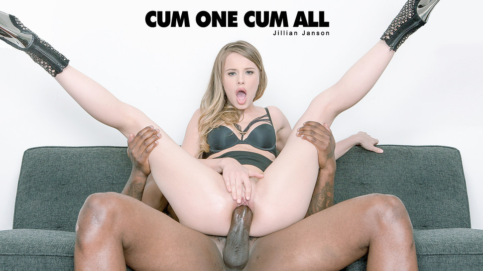 Jillian Janson – Cum One Cum All – Black is Better